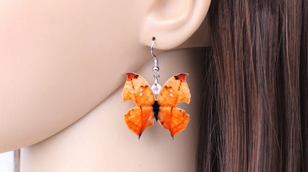 Autumn Butterfly Earrings  - Zaida Fashions