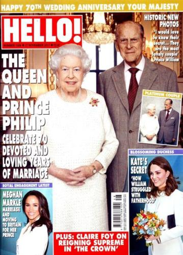 Hello! Magazine #1509 The Queen and Prince Philip Kate Middleton Meghan Meghan
