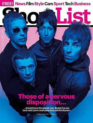 NEW SHORTLIST Magazine BEADY EYE LIAM GALLAGHER MARTIN GARY KEMP SPANDAU BALLET