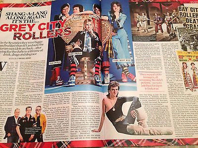 (UK) EVENT MAGAZINE NOVEMBER 2015 BAY CITY ROLLERS LES MCKEOWN BEN WHISHAW