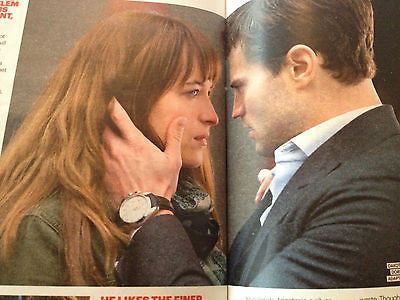 UK Shortlist February 2015 CHRISTIAN GREY Jamie Dornan PHOTO SPECIAL FIFTY SHADES
