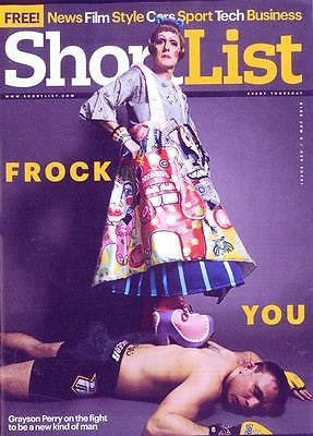 SHORTLIST Magazine 05/2016 GRAYSON PERRY PHOTO COVER INTERVIEW BEN HARDY