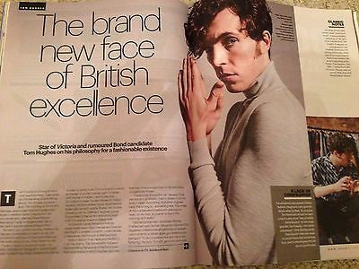 Young Victoria TOM HUGHES Photo Shoot UK Shortlist Magazine 09/2016 THE BEATLES