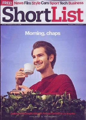 Shortlist Magazine January 2017 Andrew Garfield interview