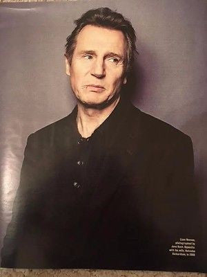 LIAM NEESON interview NATASHA RICHARDSON UK Times Magazine 24 December 2016