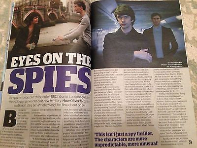 *** NEW UK !! BEN WHISHAW inter/w onset LONDON SPY photo interview NOVEMBER 2015