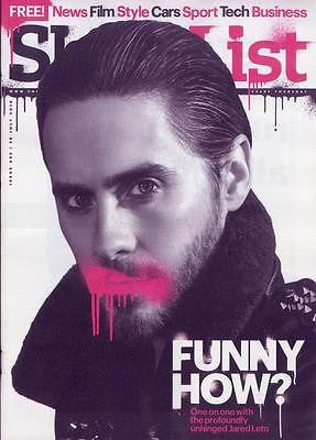 (UK) SHORTLIST MAGAZINE JULY 2016 Suicide Squad Jared Leto PHOTO COVER INTERVIEW