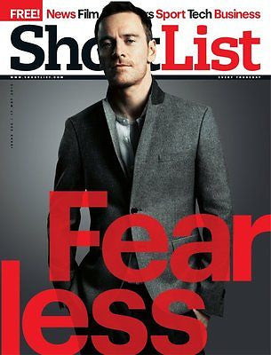 Michael Fassbender - Shortlist (UK) Magazine - May 2012 - Prometheus - Brand New