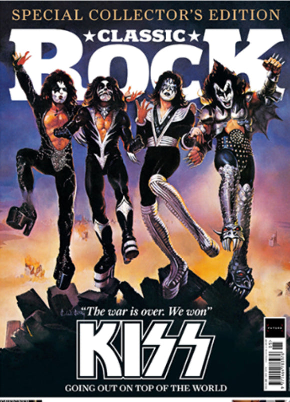 CLASSIC ROCK magazine May 2019 #261 Kiss (includes double-sided giant poster)