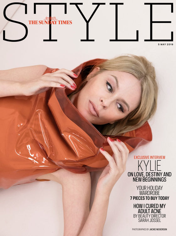 Sunday Times Style Magazine May 2019: KYLIE MINOGUE COVER AND INTERVIEW