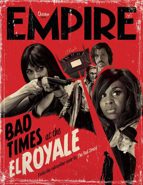 Empire Magazine October 2018: BAD TIMES AT THE EL ROYALE DAKOTA JOHNSON COVER