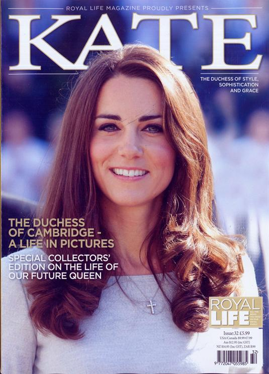 KATE MIDDLETON Special Collectors Edition - A Life in Pictures UK Magazine
