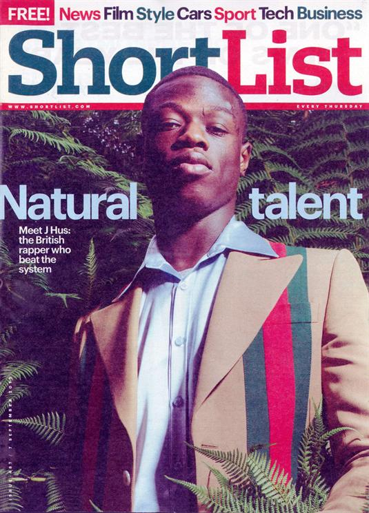 UK Shortlist Magazine 7 September 2017 J Hus Russell Tovey David Mitchell