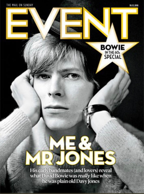 UK Event Magazine December 30th 2018 David Bowie