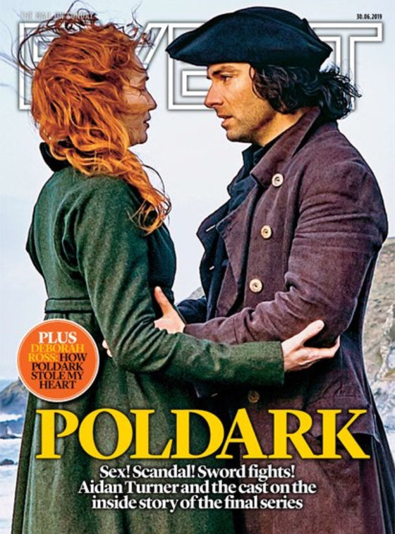 UK Event Magazine June 2019: Poldark (Aidan Turner & Eleanor Tomlinson) World Exclusive