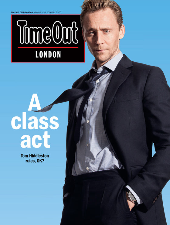 High Rise TOM HIDDLESTON Photo Interview UK Time Out MAGAZINE March 2016 NEW