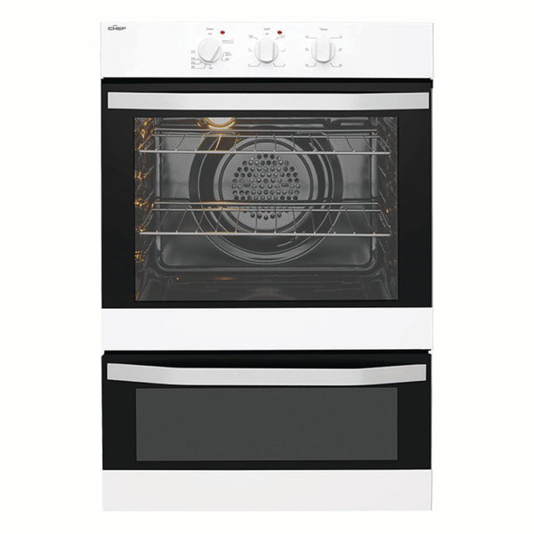Chef CVE662WA Electric Wall Oven With Separate Grill - Stove Doctor