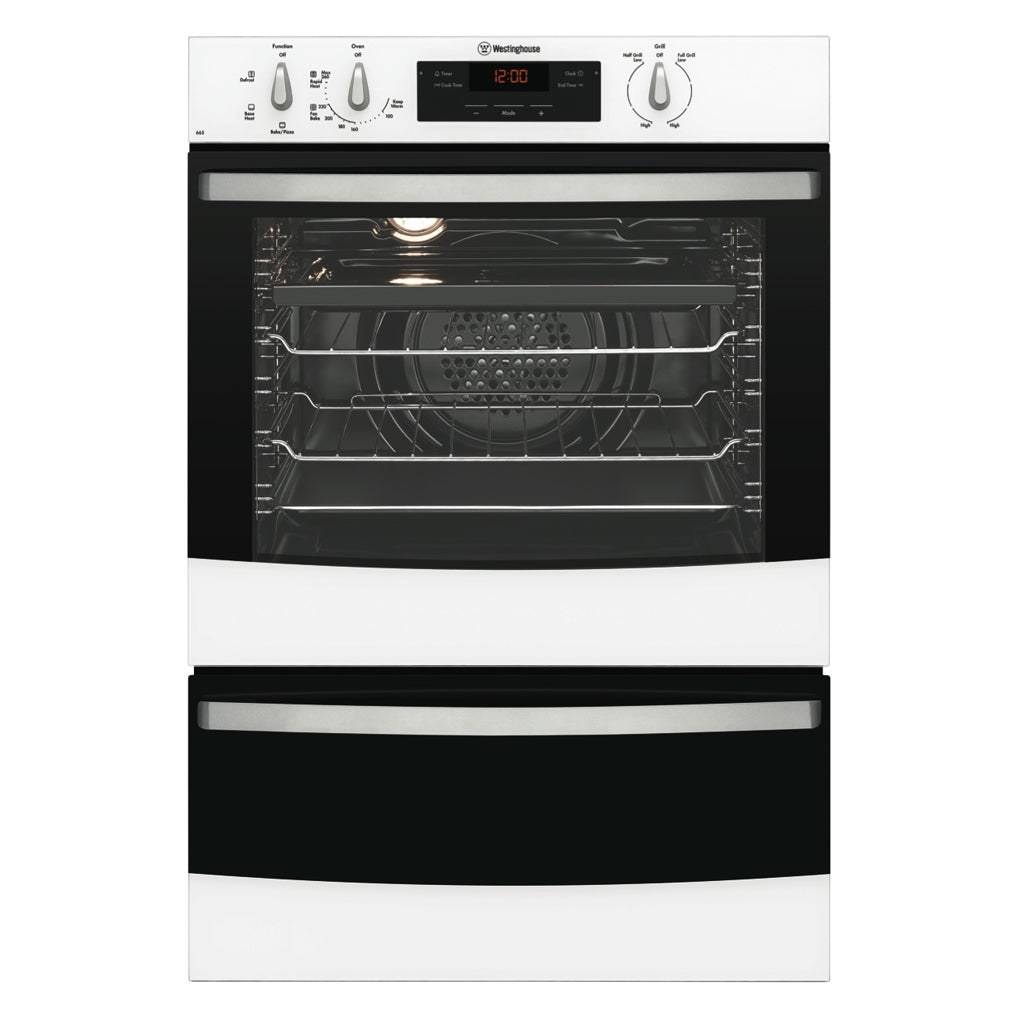 Westinghouse WVE665W Electric Wall Oven With Separate Grill - Stove Doctor