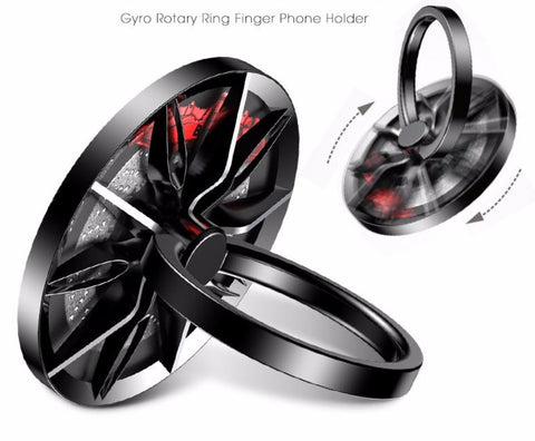 Finger Ring Holder For iPhone 5 6 7 Gyro High Speed Rotation Phone Stand Grips Baseus 10825764 - Tokyo Fashion