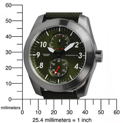 ANDROID Skyguardian Power Reserve Automatic AD613BGR