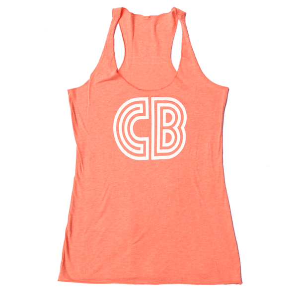 CB Logo Tank  | Women's Orange