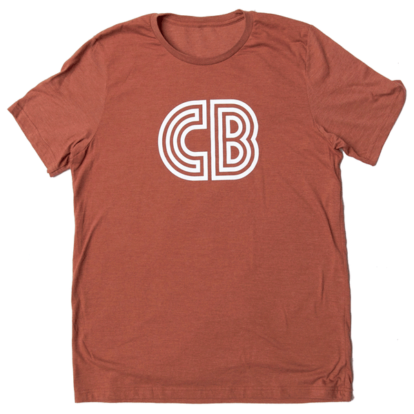 CB Logo T-Shirt  |  Men's Clay