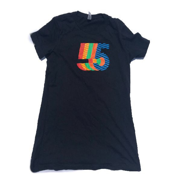 5th Anniversary T -Shirt  | Women's Black