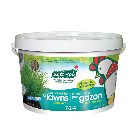 Actisol Lawn Fertilizer 7-2-4