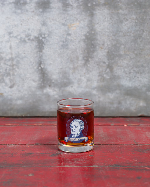 Alexander Hamilton Shot Glass