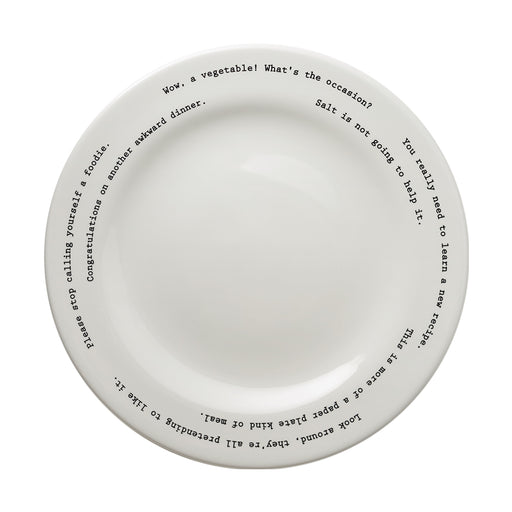 """Wow, A Vegetable!"" Dinner Plate"