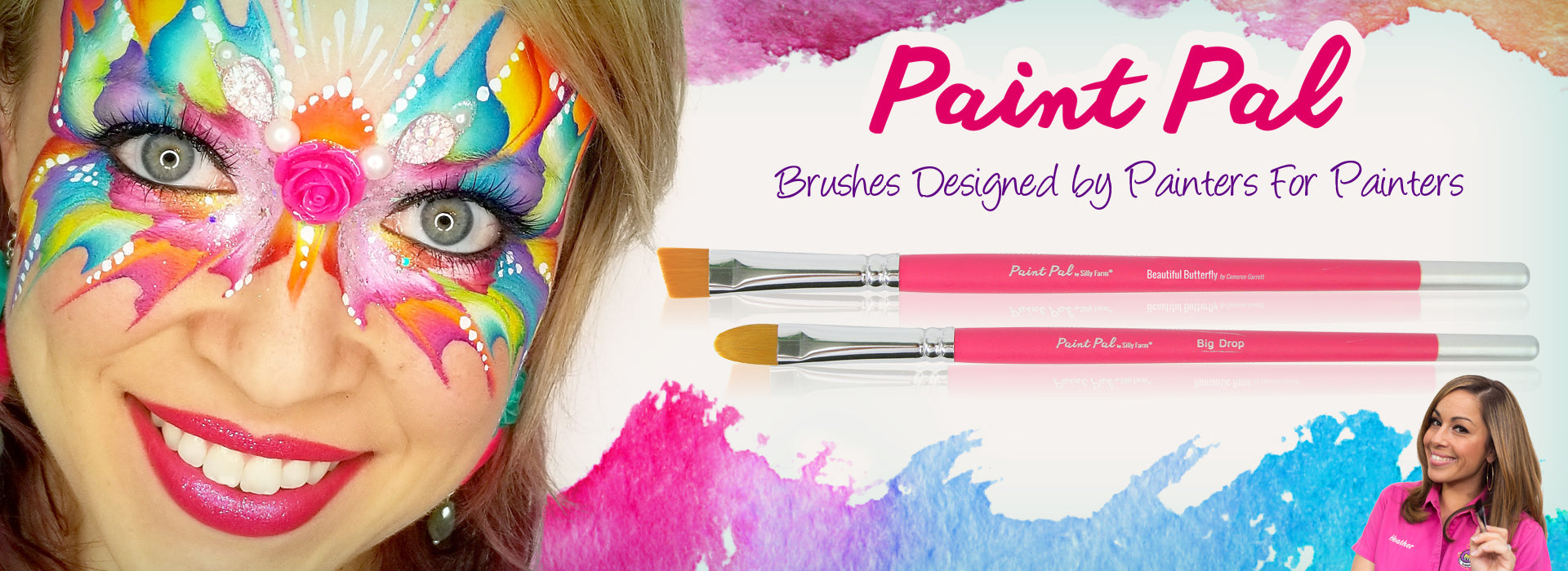 Paint Pal Brushes and Sponges by Silly Farm