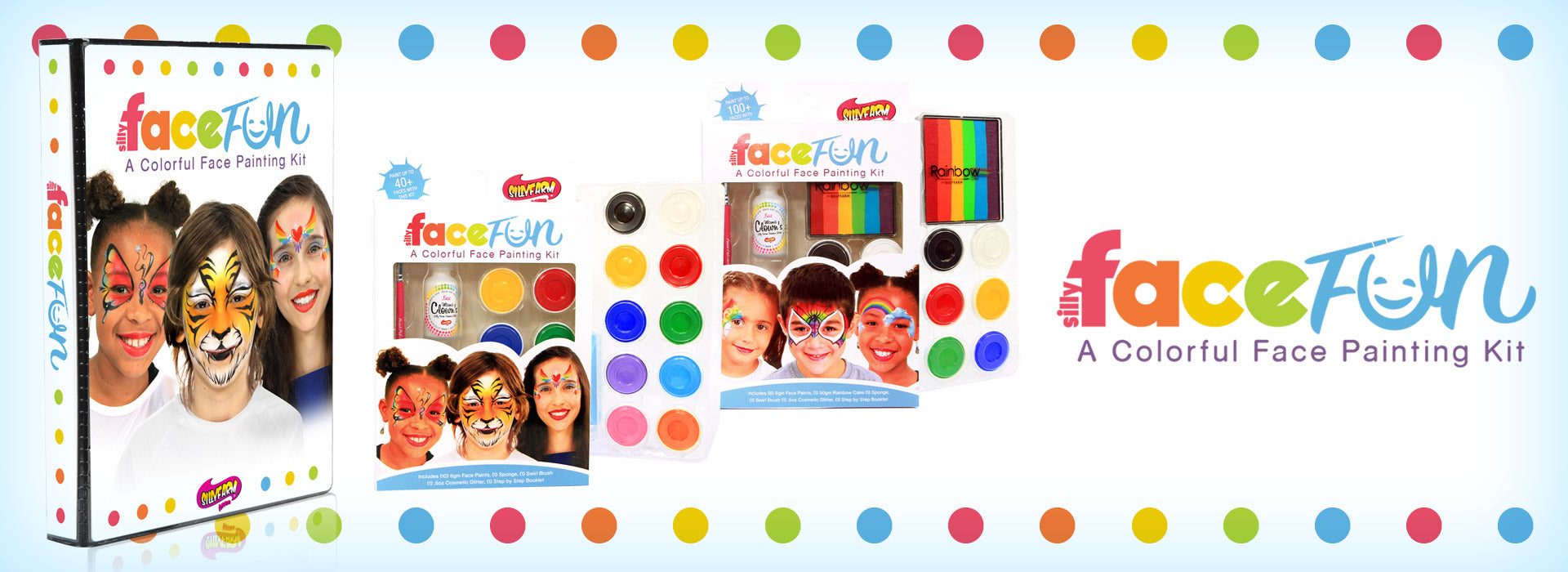 Silly Face Fun Face Painting Kits