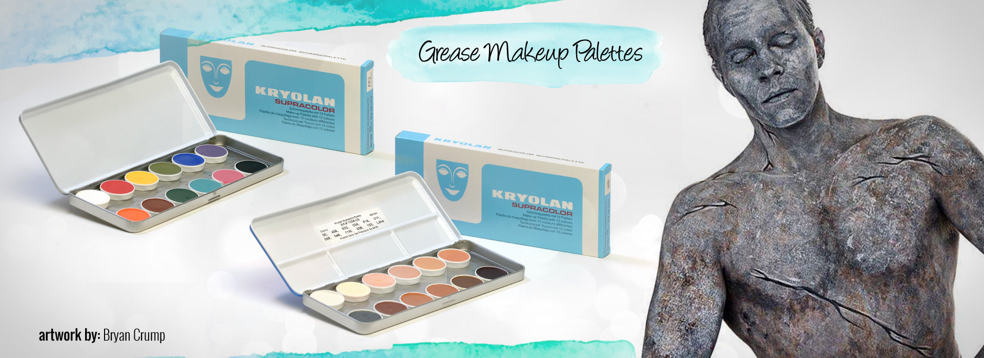 Grease Makeup Palettes