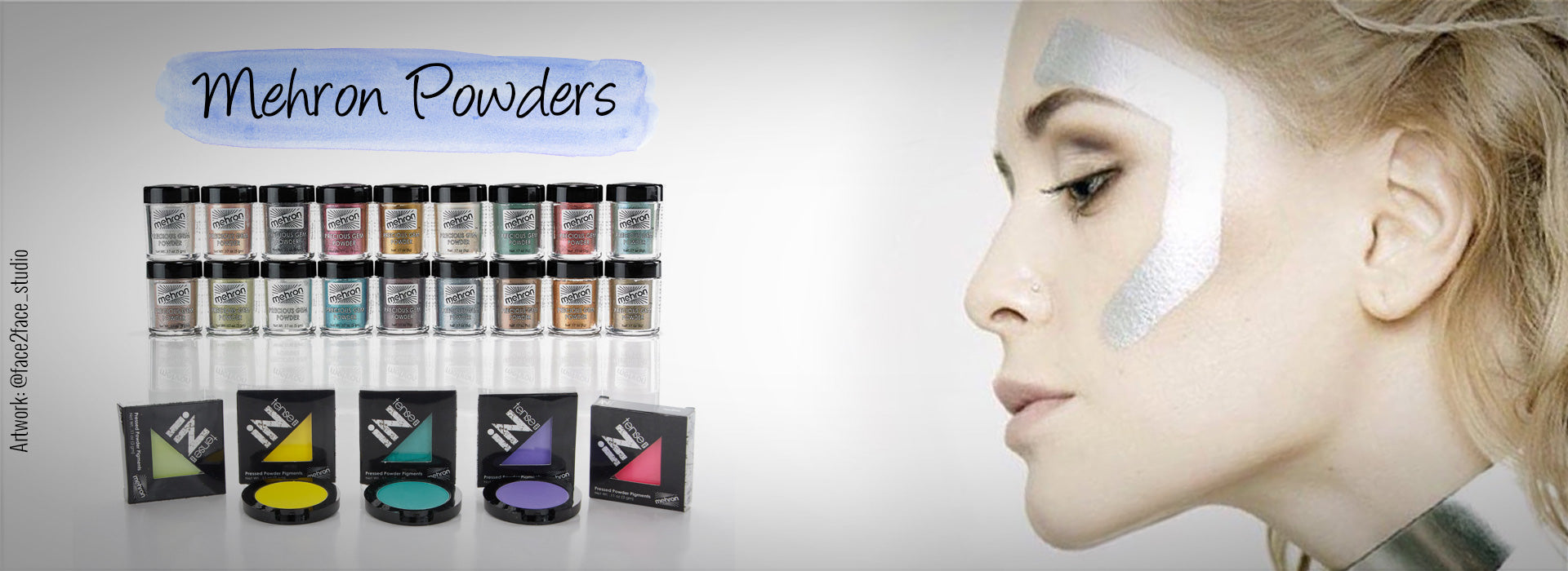 Mehron Powders