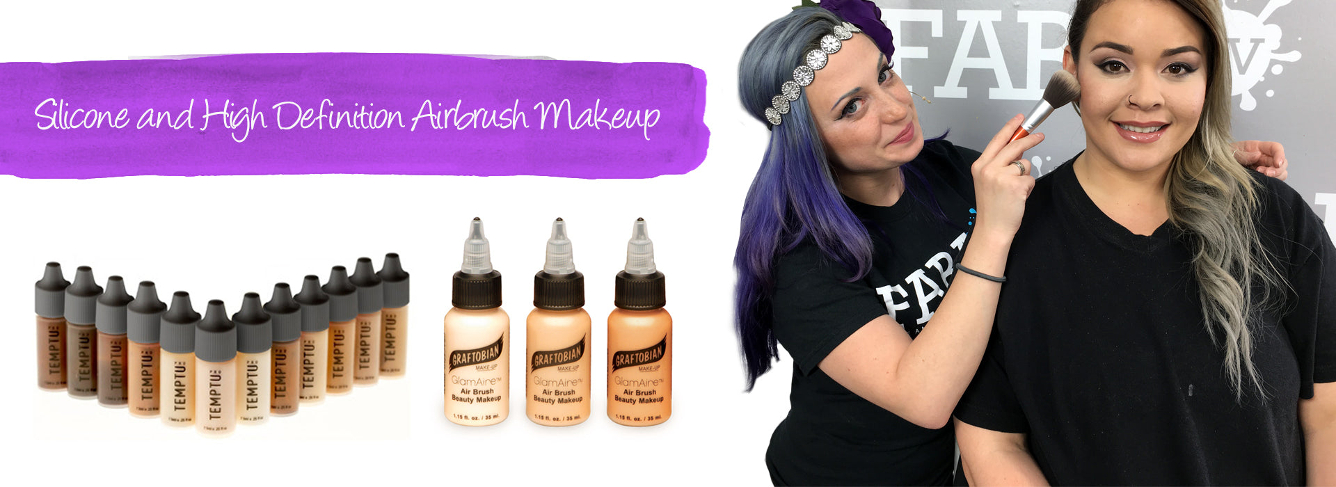 Silicone & High Definition Airbrush Makeup