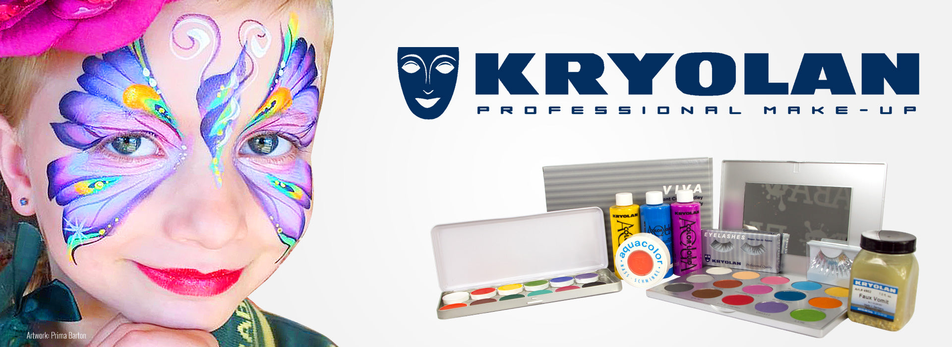 Kryolan AquaColor Face Paint