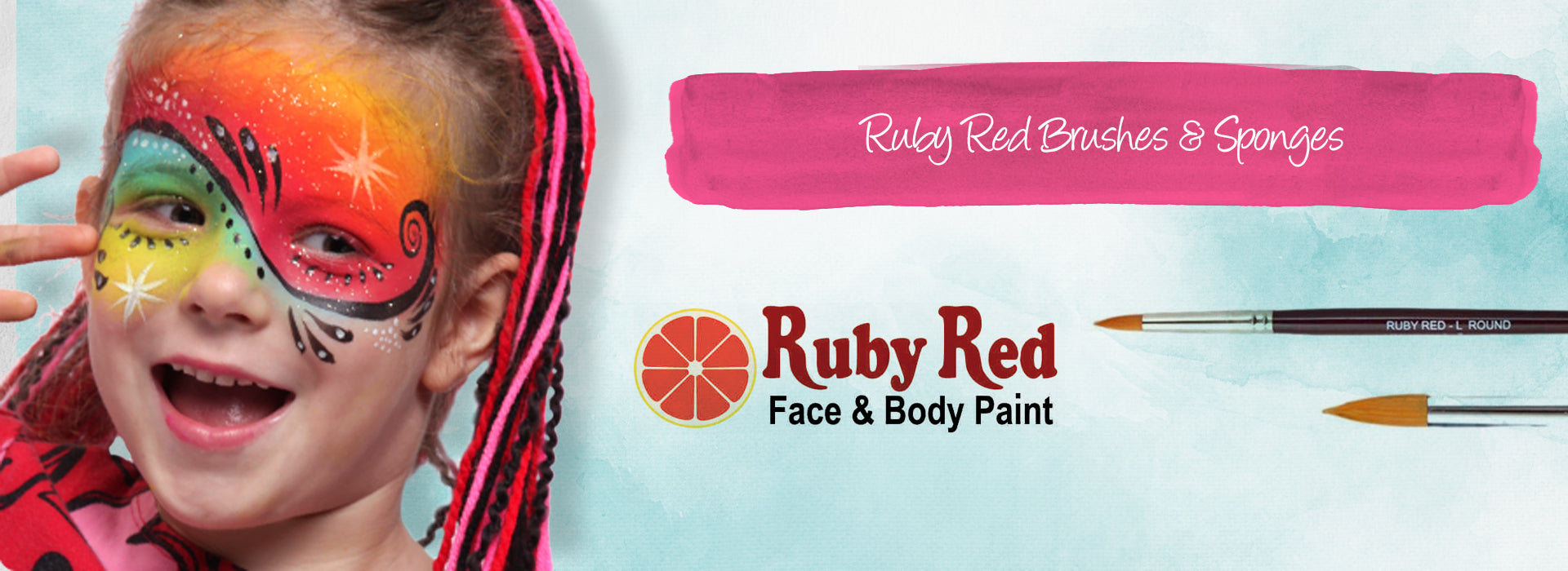 Ruby Red Brushes and Sponges