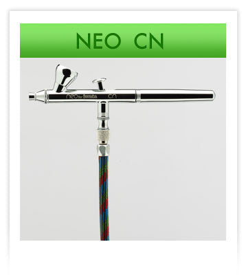NEO CN Gravity-Feed Dual Action Airbrush by Iwata-Medea