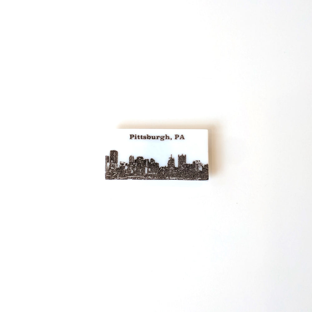 PGH Fused Glass Magnet