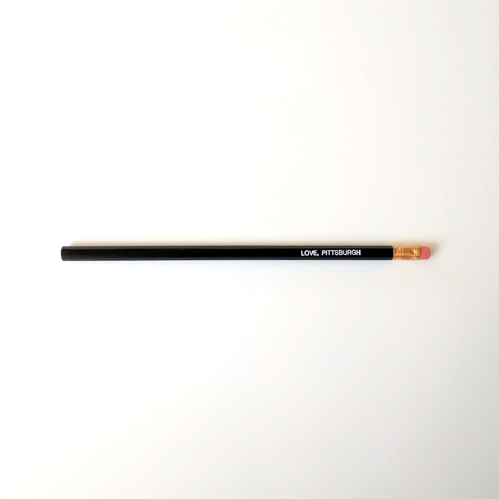love, Pittsburgh Pencil