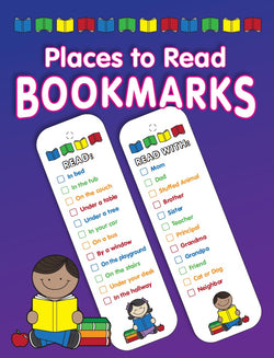 Places to Read Bookmarks