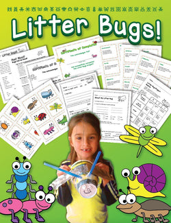 Litter Bugs! - Earth Day Craft Activity