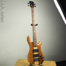 NAMM 2018 Spector NS-4 High Gloss 4 String Flamed Redwood HH