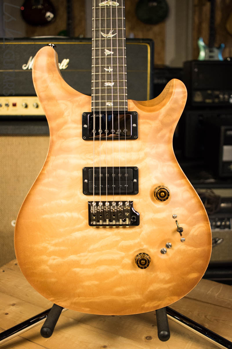 Paul Reed Smith PRS Wood Library Custom 24-08 One Piece Quilted Maple Vintage Natural Satin Korina