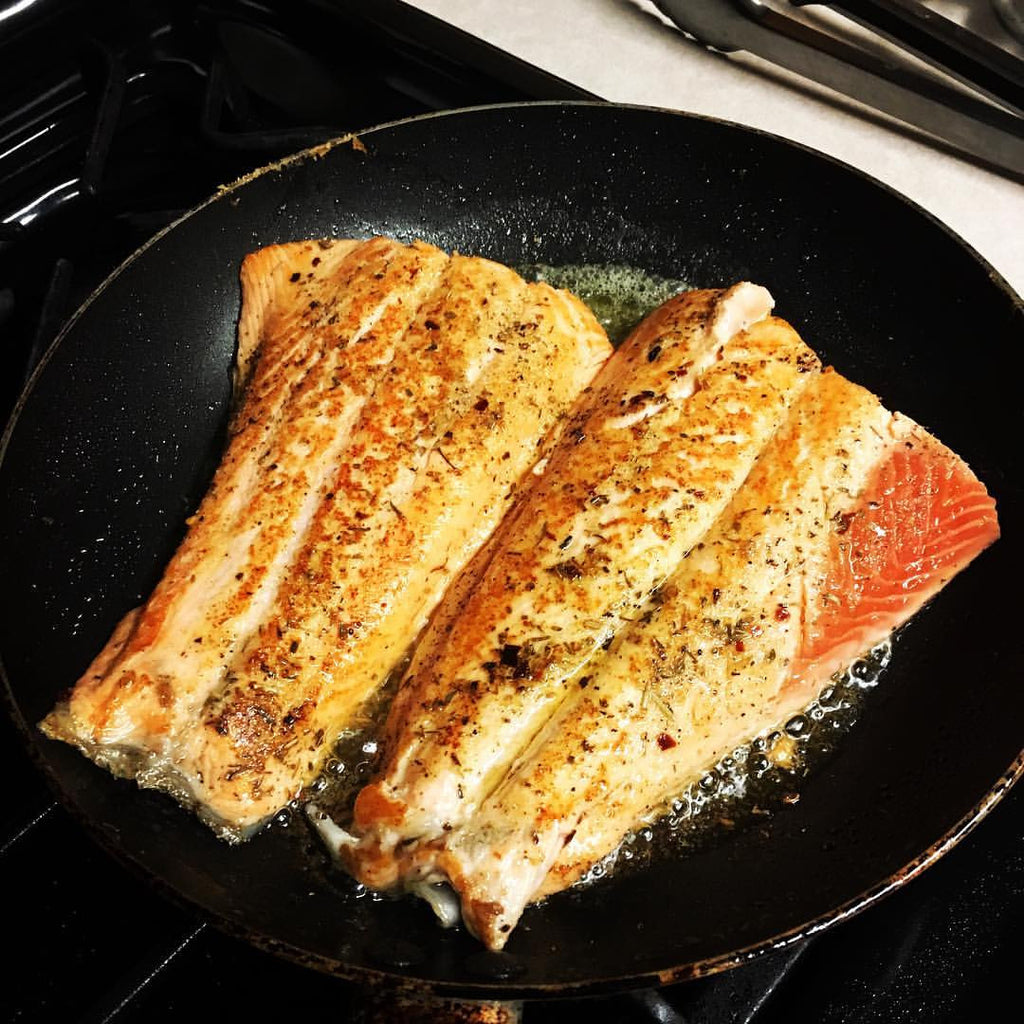 Pan Seared Tilapia/Salmon
