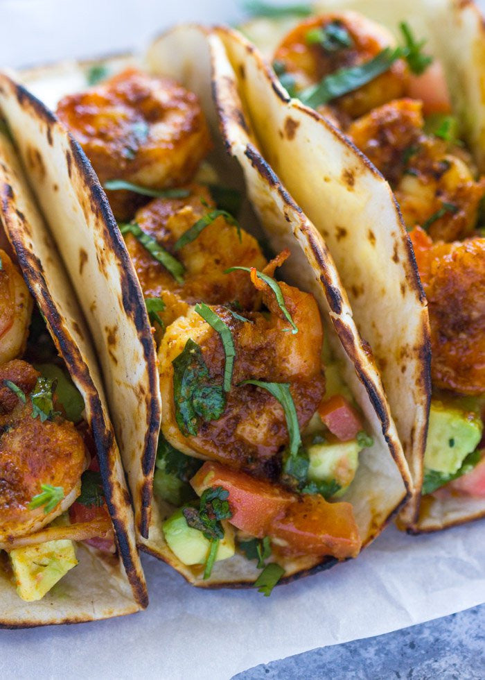 Simple Shrimp Tacos