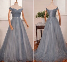 Beautiful Prom Dresses Off-the-shoulder Floor-length Sexy Prom Dress/Evening Dress JKL402