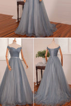 Beautiful Prom Dresses Off-the-shoulder Floor-length Sexy Prom Dress/Evening Dress JKL404