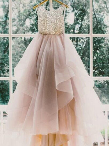 2017 Wedding Dresses Sexy Ball Gown Sweep/Brush Train JKW001