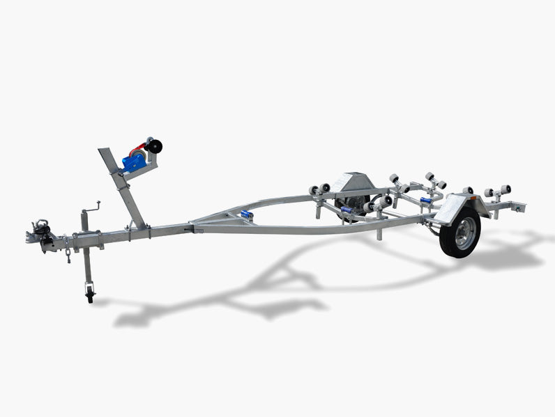 4M Boat Trailer (Wobble Rollers)